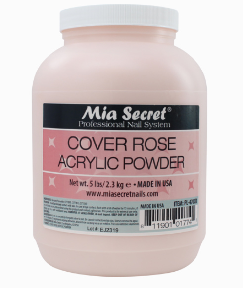 Mia Secret - Cover Pink Acrylic Powder 2 oz - The Beauty Box